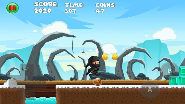 Ninja pirate boy Super jump apk screenshot