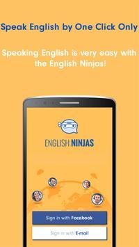 English Ninjas - Online Speaking Practice Teacher poster