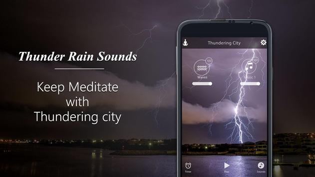 Thunder Rain-Sleep Meditation Sounds screenshot 4