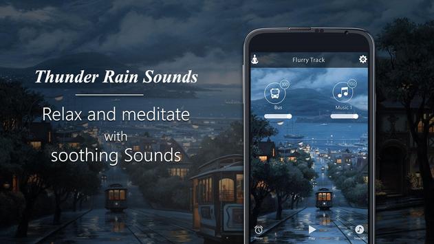 Thunder Rain-Sleep Meditation Sounds screenshot 5