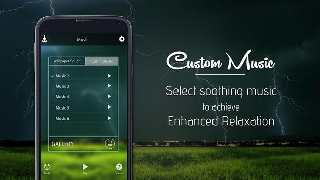 Thunder Rain-Sleep Meditation Sounds screenshot 6