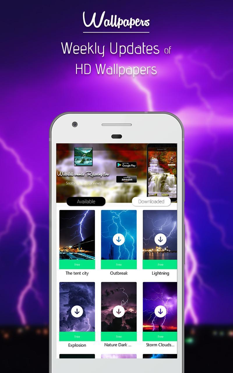 Thunder Rain-Sleep Meditation Sounds for Android - APK Download