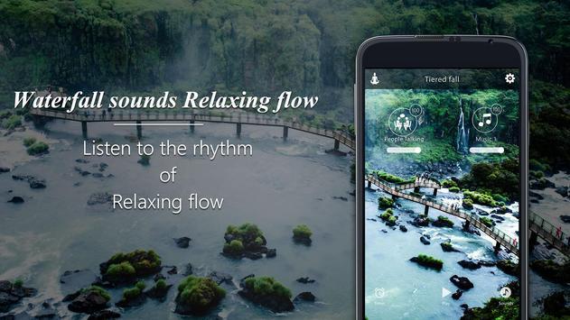 Waterfall sounds-Relaxing flow screenshot 4