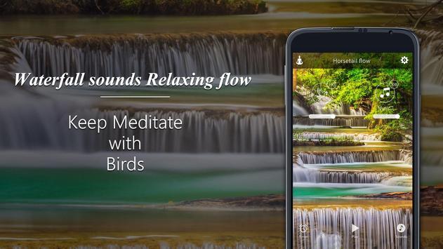 Waterfall sounds-Relaxing flow screenshot 7