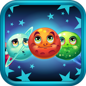 Funny Planet: match 3 game icon