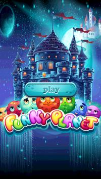 Funny Planet: match 3 game poster