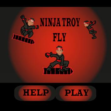 Ninja Troy Fly poster