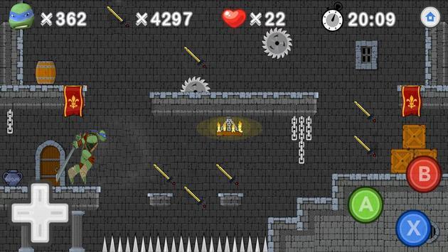 Ninja Go Turtle screenshot 2