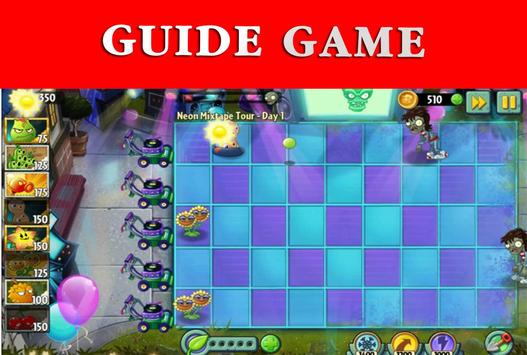 Guide Plants vs Zombies 2 poster