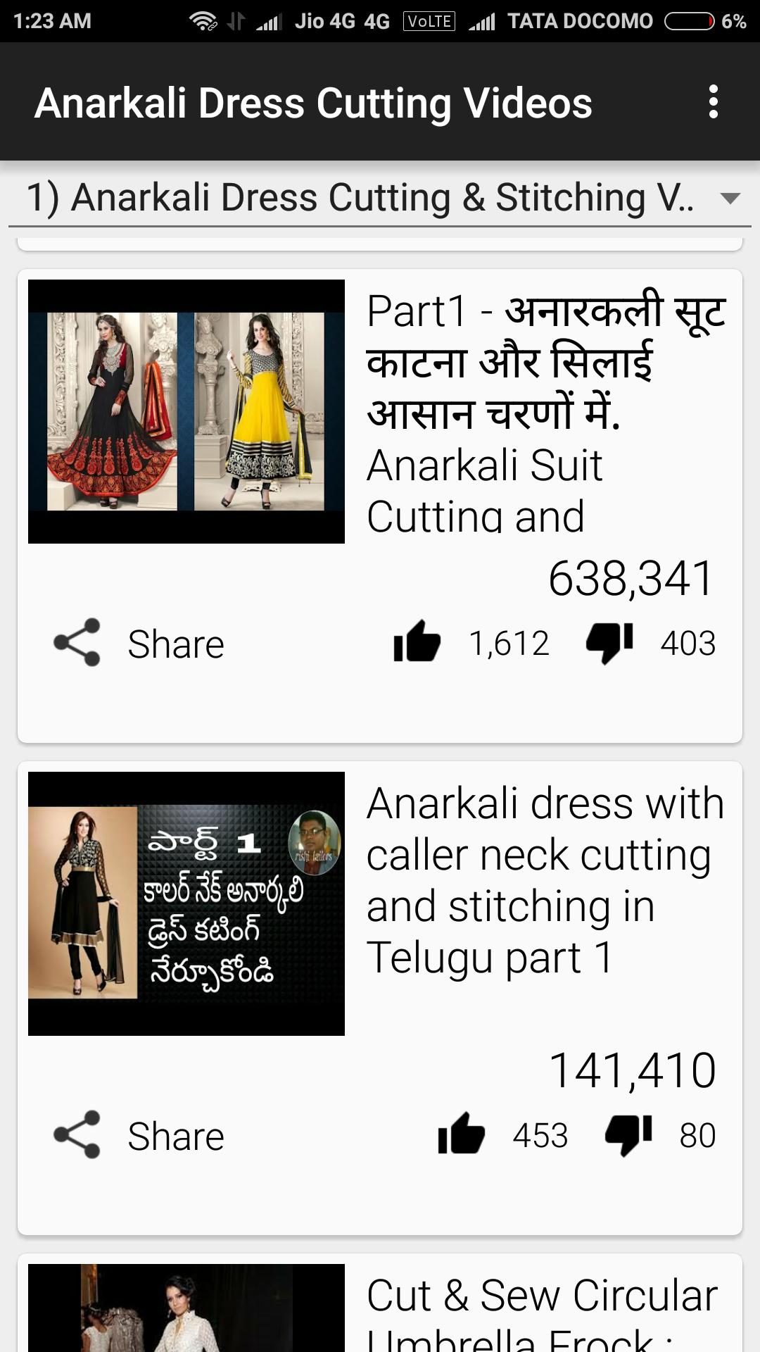 Anarkali Dress Cutting And Stitching In Marathi for Android