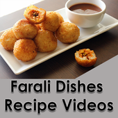 Farali Dishes Recipe Videos icon