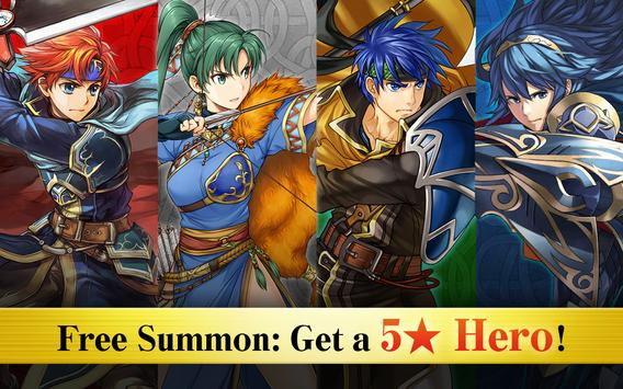 Fire Emblem Heroes poster