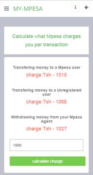 myMpesa screenshot 1
