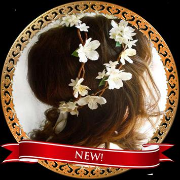 Crown Flower Hairstyles poster