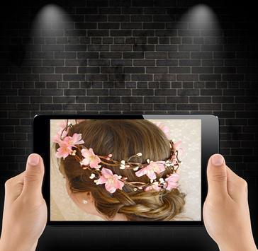 Crown Flower Hairstyles screenshot 3