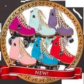 Roller Skates Design icon