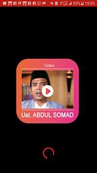 Video Ceramah Abdul Somad poster