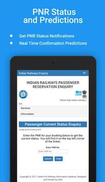 Tripura,India Rail enquiry screenshot 2
