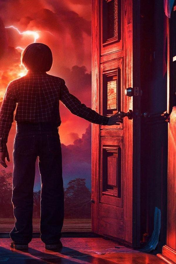 Stranger Things Art Hd Phone Wallpaper For Android Apk