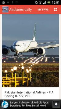 Airplanes Daily screenshot 2