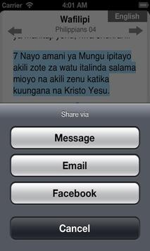 Bible in Swahili Free screenshot 3