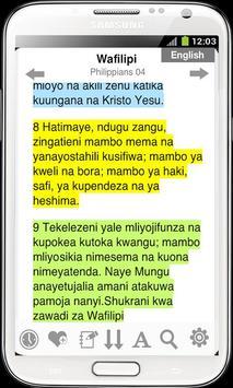 Bible in Swahili Free screenshot 2