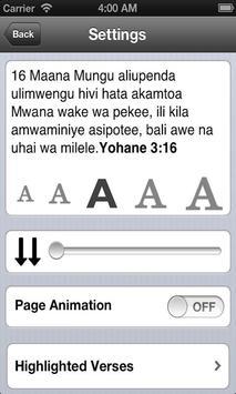 Bible in Swahili Free screenshot 4