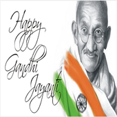 Gandhi Jayanti Images Wishes Greetings & Messages icon