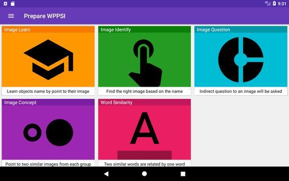 Prepare WPPSI screenshot 7