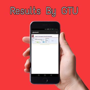 gtu results poster