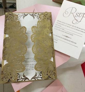 Wedding Invitation Card poster