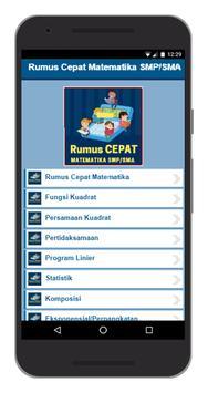 Rumus Cepat Matematika SMP/SMA apk screenshot