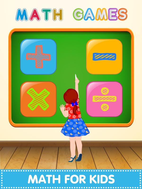 Juegos De Matematicas Divertidas Para Ninos For Android Apk Download
