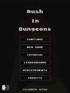 Rush In Dungeons apk screenshot