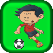 Play foot ball games icon