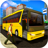 New Bus Driving 2018:Indian Bus Simulator Games icon