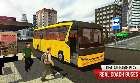 New Bus Driving 2018:Indian Bus Simulator Games poster