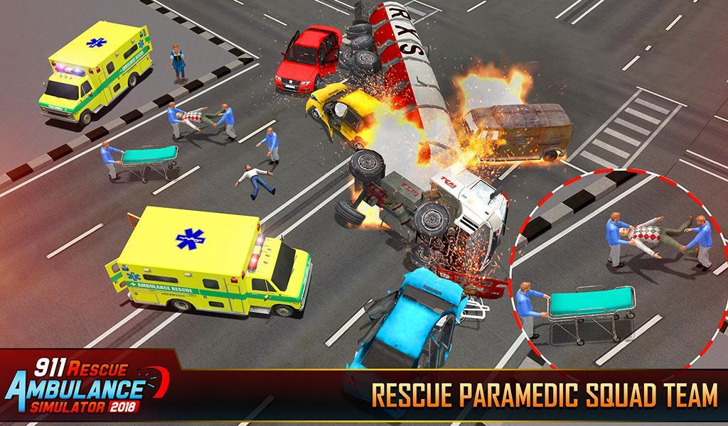 Ambulance Rescue Driving 2018-City Emergency Duty for Android - APK