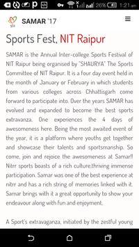 SAMAR' 17 screenshot 3