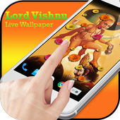 HD Lord Vishnu Live Wallpaper icon