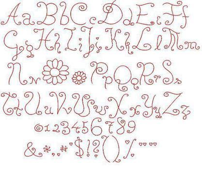 Tattoo Lettering Ideas screenshot 2