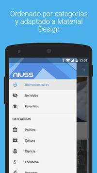 niuss - Leer y enviar noticias apk screenshot
