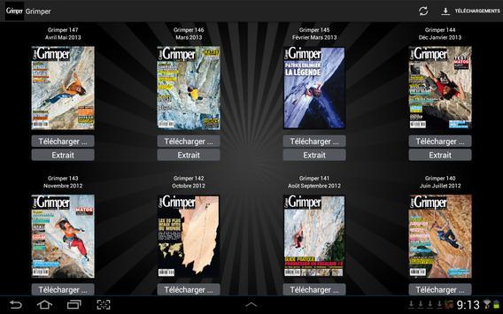 Grimper apk screenshot