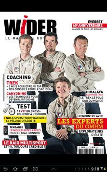 Wider Magazine poster