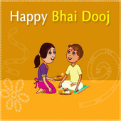 Bhai Dooj / Bhai Bij Wishes Wallpapers Sms Images icon