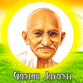 Mahatma Gandhi Jayanti Wallpaper Sms Wishes Quotes icon
