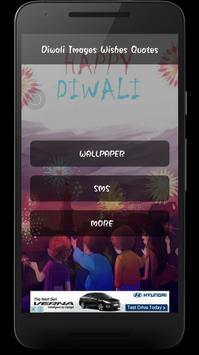 Diwali Image Greetings Walpapper Sms Wishes Quotes poster