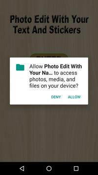 Add Text to Photo Editor New Version 2018 apk screenshot