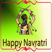 Navratri Greetings Walpapper Sms Wishes Quotes icon