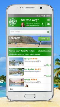 Nix-wie-weg® Lastminute Urlaub apk screenshot